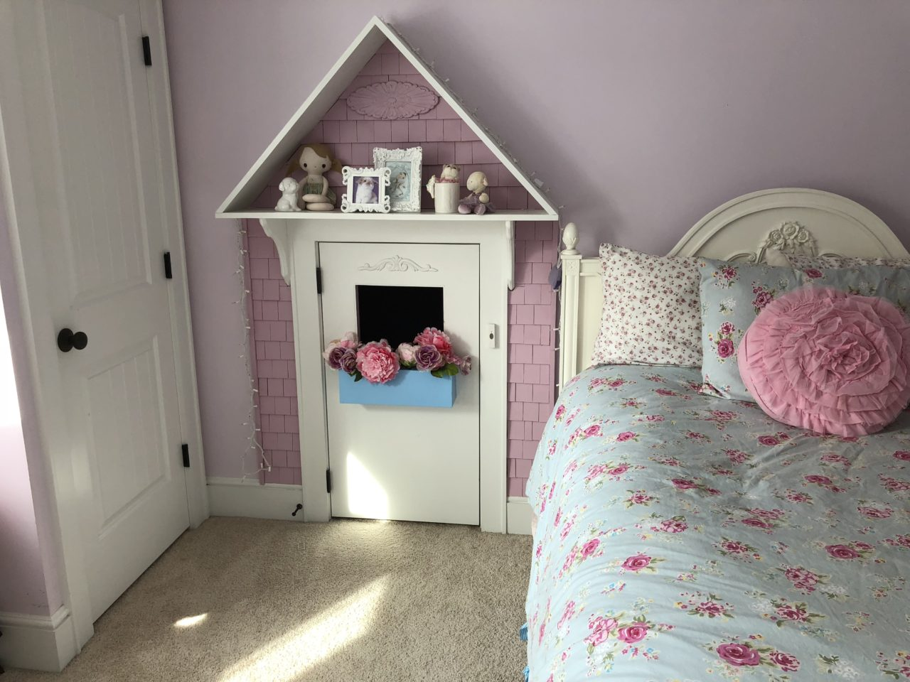 This Was A Fun One Were We Turned An Unusual Small Closet Into A Great  Playhouse In The Kids Bedroom.